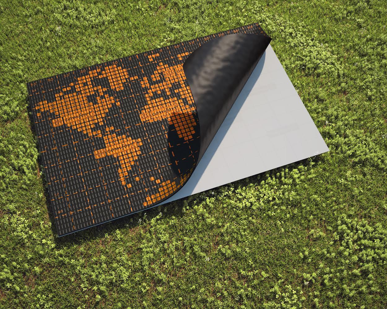 Comfort mat Dark вибродемпфер профессионального уровня